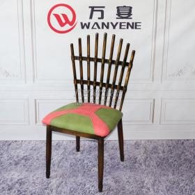 Peacock Chair Iron Pipe Painting Throne Hot pot sh...