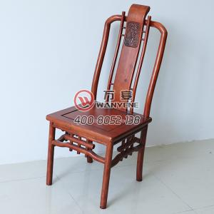 Antique furniture Chinese style chair with backres...