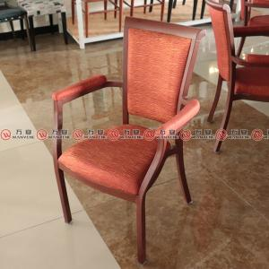 Metal frame arm chair dining room use chair dining chair 2324