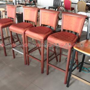 Metal frame high stool bar chair 2347
