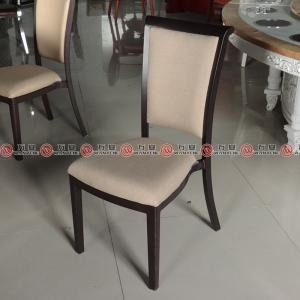 Stackable metal frame dining chair iron frame hotp...