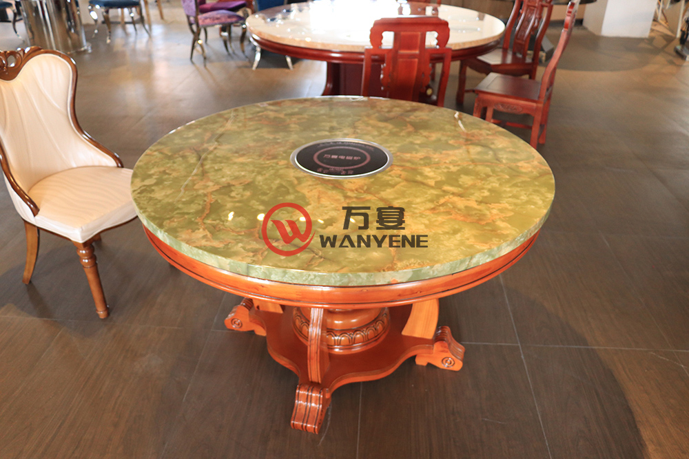 Round hotpot Table